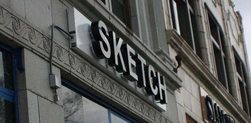 SKETCH sign