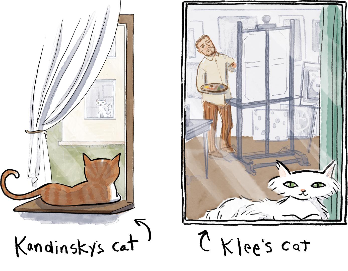 bauhaus cats